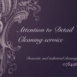 Attention to Detail Cleaning service